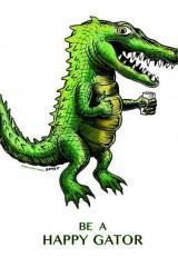 Happy Gator